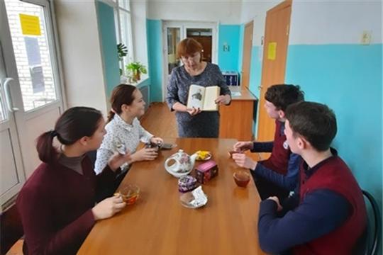 Литературные посиделки «За чашкой чая поговорим о Фете» в Алтышевской сельской библиотеке