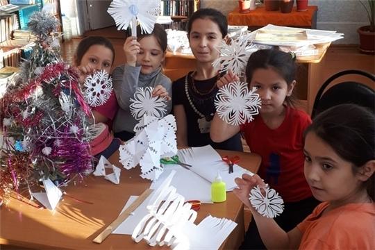 Кувакинская библиотека готовится к встрече Нового года