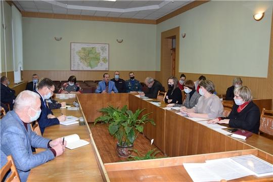В администрации Алатырского района состоялось совещание руководителей образовательных учреждений