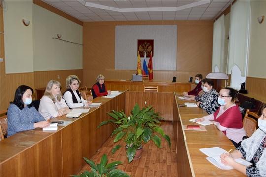 В Алатырском районе прошло очередное совещание с заместителями директоров по учебно-воспитательной работе