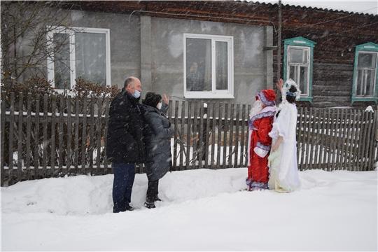 Ветеранов Великой Отечественной войны поздравили с наступающим Новым годом