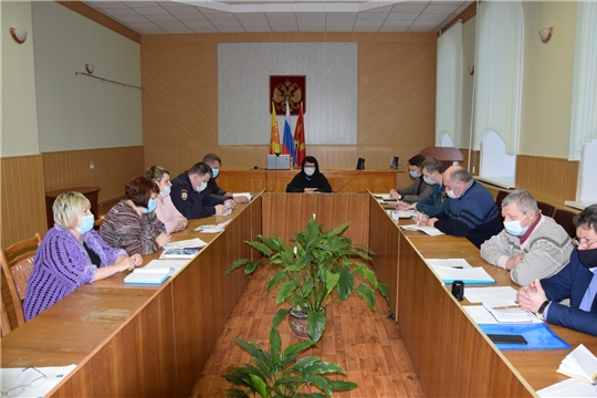 Состоялось заседание антитеррористической комиссии по подготовке к Новогодним праздникам
