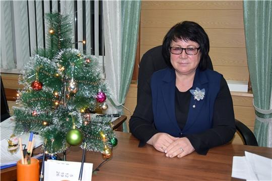 Поздравление главы администрации Алатырского района Н.И. Шпилевой с Новым годом и Рождеством Христовым