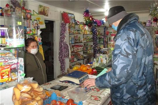В Алатырском районе прошли проверки торговых объектов