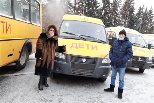 Парк школьных автобусов Алатырского района пополнился новым транспортным средством