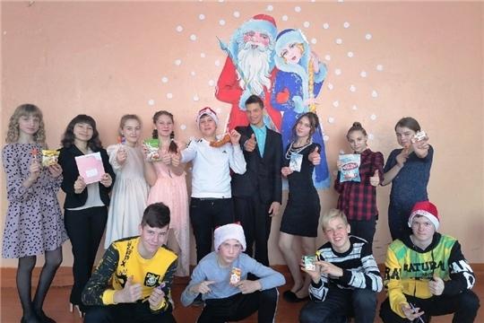 Новогоднее настроение в МБОУ «Чуварлейская СОШ»