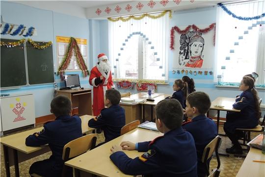 Посещение семей Аликовского района Дедом Морозом в лице субъектов профилактики накануне Нового года