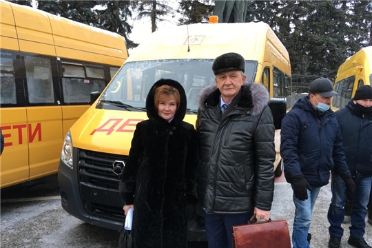 В Аликовском районе продолжается обновление парка школьных автобусов общеобразовательных организаций
