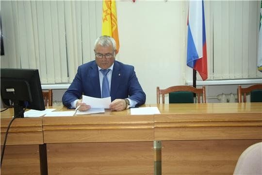 Комиссия по обеспечению безопасности дорожного движения в Чебоксарском районе