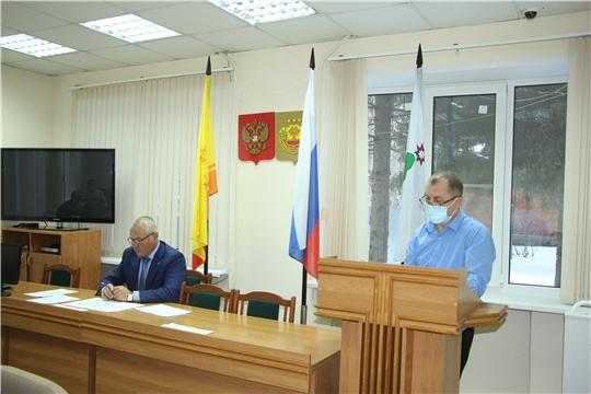 Заседание антитеррористической комиссии в Чебоксарском районе