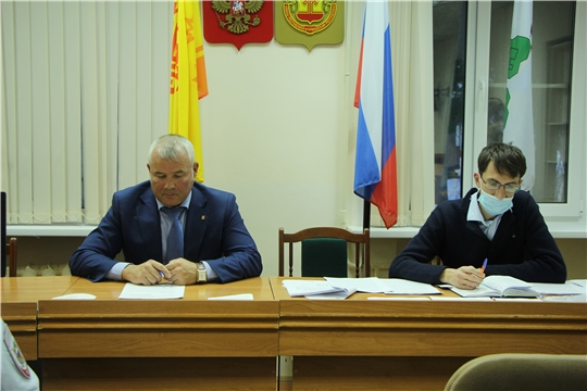 Заседание антинаркотической комиссии под председательством главы администрации Чебоксарского района Николая Хорасева
