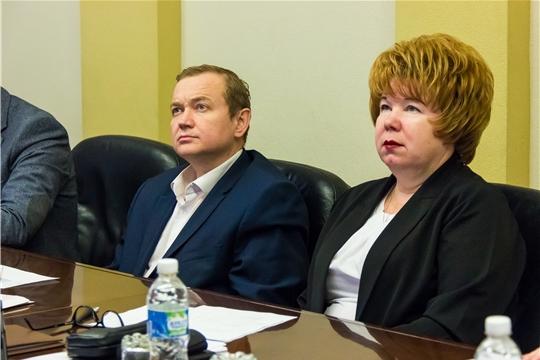 Состоялось 5-е заседание Президиума Чебоксарского городского Собрания депутатов