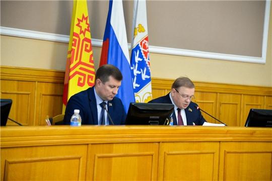 Состоялось совместное заседание постоянных комиссий Чебоксарского городского Собрания депутатов по вопросам градостроительства, землеустройства и развития территории города и по экономической политике и инвестициям