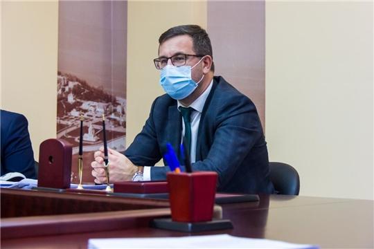 Состоялось заседание рабочей группы по внесению изменений в нормативные правовые акты Чебоксарского городского Собрания депутатов