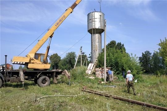 В Чувашии капитально отремонтируют еще 95 источников водоснабжения