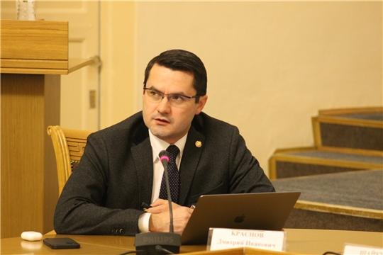«Час с министром» экономического развития и имущественных отношений Чувашской Республики