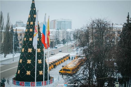 Парк школьных автобусов Чебоксар пополнился дополнительной единицей