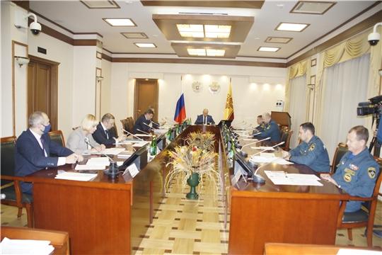 Заседание Комиссии по чрезвычайным ситуациям /22.12.2020/НТРК Чувашии