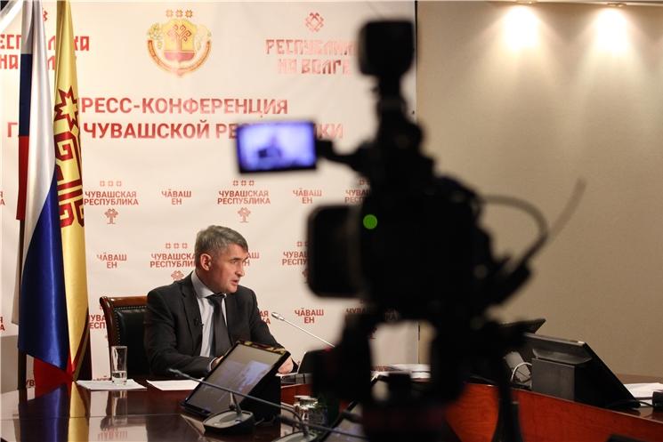 Олег Николаев провел пресс-конференцию по итогам 2020 года