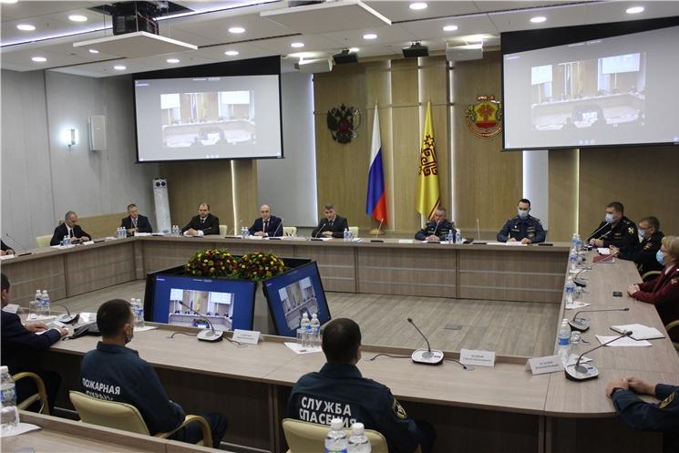 В Чувашии обсудили итоги работы системы предупреждения и ликвидации чрезвычайных ситуаций