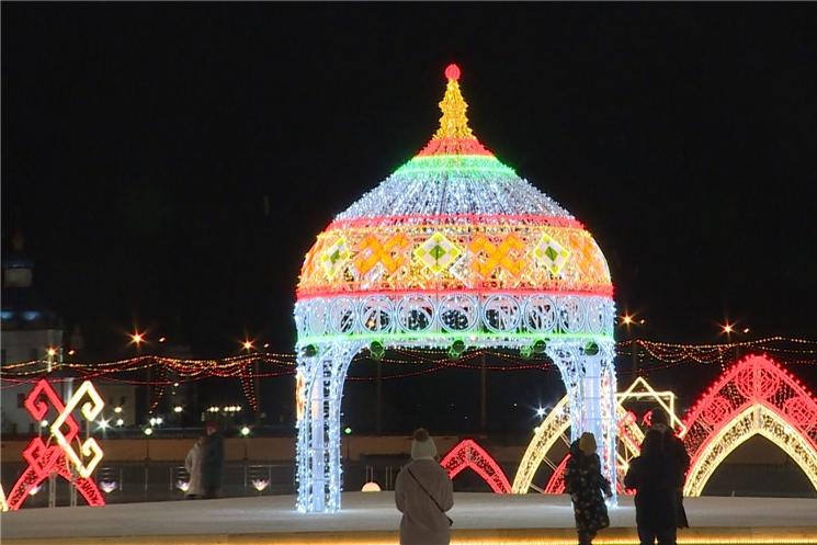 Чебоксары готовятся к Новому году и всероссийскому конкурсу «Новогодняя столица России».