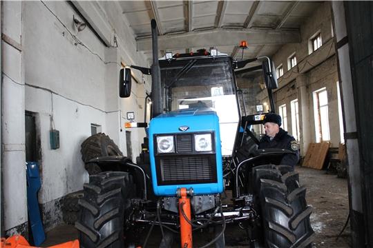 Новая техника повышает эффективность сельхозпроизводства