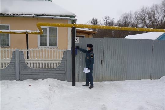 В Калининском районе проведен день противопожарной профилактики