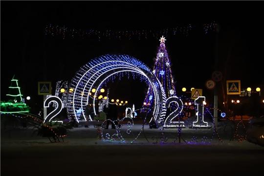 Новогоднее вечернее Комсомольское