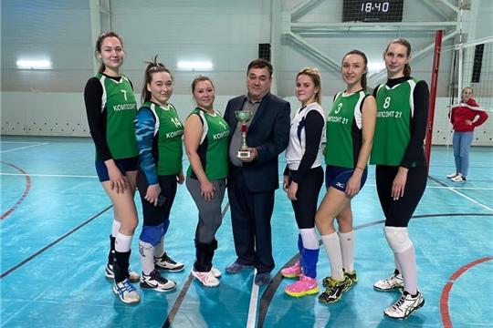 Команда «Композит 21» завоевала Кубок Чувашии по волейболу среди женских команд