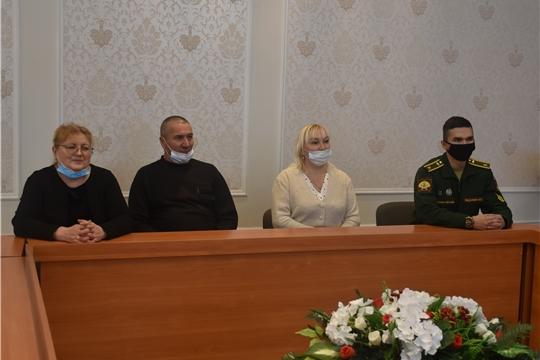 В администрации Красноармейского района состоялась встреча главы администрации района А.Н. Кузнецова с воинами-интернационалистами, участниками боевых действий