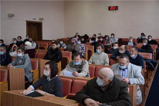 Состоялся обучающий семинар по мерам государственной поддержки малых форм хозяйствования.