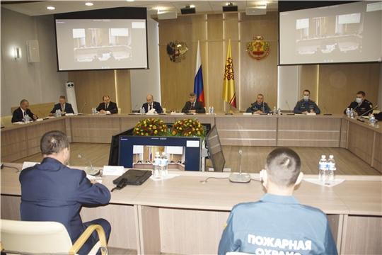 Подведены итоги деятельности ТП РСЧС Чувашской Республики за 2020 год. Поставлены задачи на будущий год.