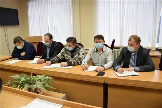Состоялось итоговое заседание антитеррористической комиссии района.