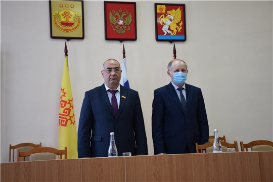 Состоялось  пятое заседание Собрания депутатов Красночетайского района