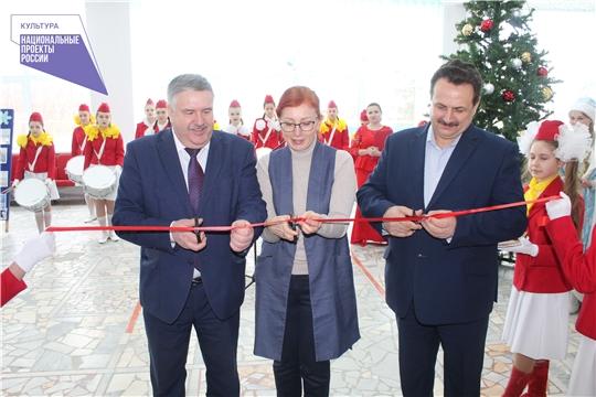 В Порецком районе состоялось торжественное открытие кинозала