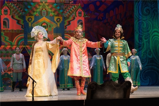 В Чувашском государственном театре оперы и балета поставили музыкальную сказку «Царевна-лягушка»
