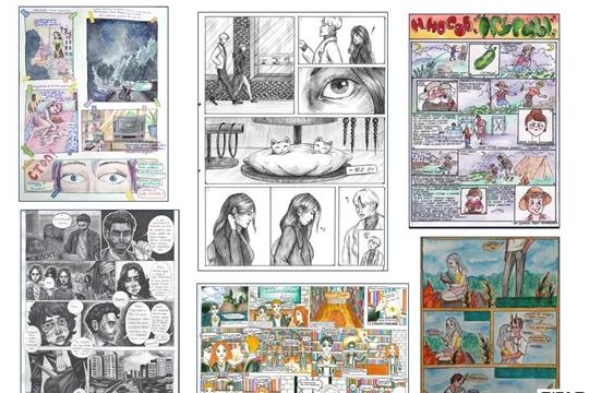 В Национальной библиотеке Чувашской Республики подвели итоги конкурса комиксов «Моя рисованная история»