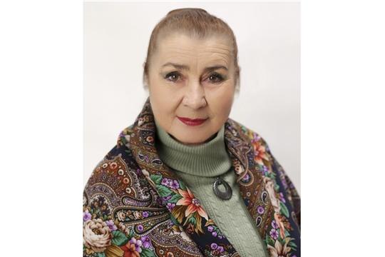 12 января 70 лет отмечает народная артистка Чувашской АССР, заслуженная артистка РФ Любовь Федорова