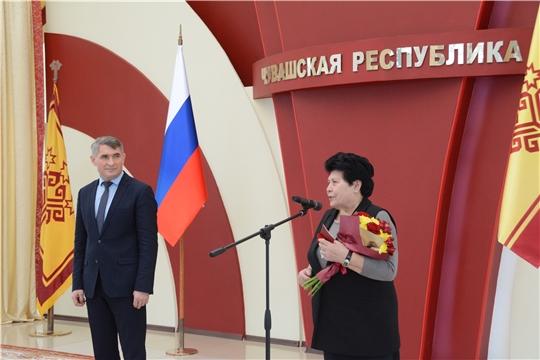 Аграриям Чувашии вручены государственные награды Российской Федерации и Чувашской Республики