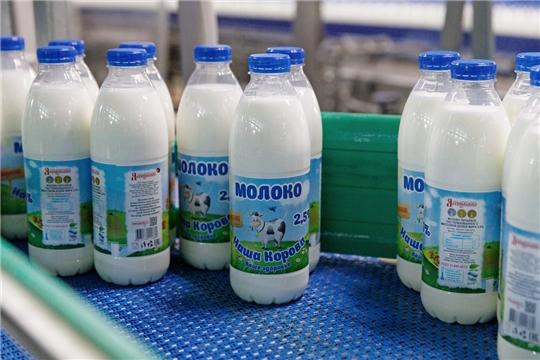 За 2020 год ядринцы переработали 67 тысяч тонн сырого молока