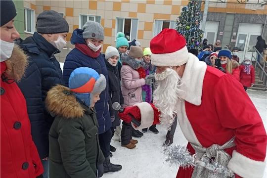 Серебряные волонтеры поздравили  детей из Кугесьского дома-интерната с Новым годом