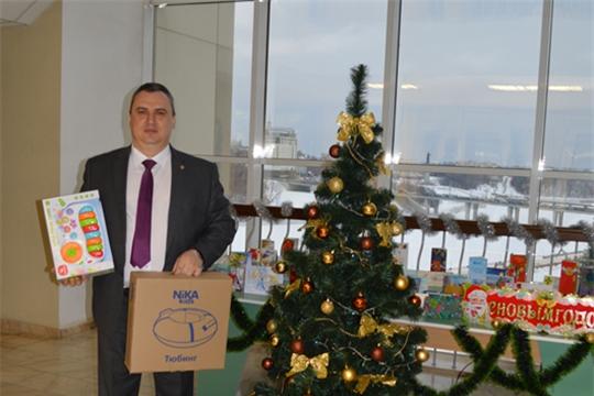 Дмитрий Сержантов исполнил новогоднее желание 7-летней девочки Веры