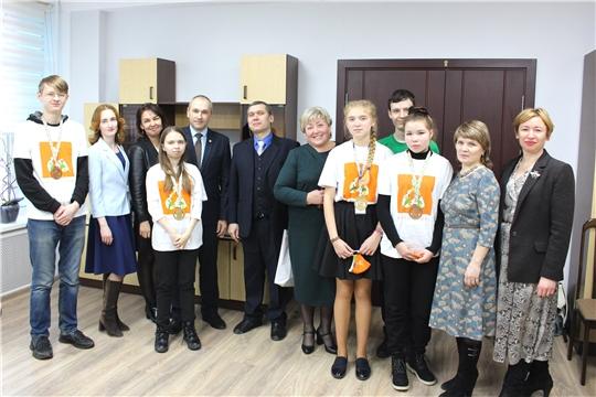 Награждение победителей и призеров VI Национального чемпионата по профмастерству среди людей с инвалидностью и ОВЗ «Абилимпикс»