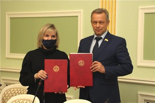 Подписано соглашение Ресурсного центра поддержки добровольчества Чувашской Республики с ЧГУ
