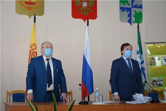 6-е очередное заседание Вурнарского районного Собрания депутатов