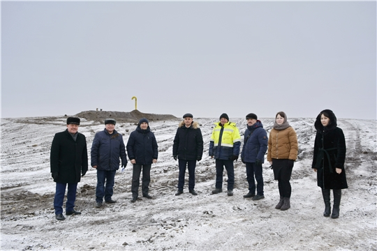 """В рамках нацпроекта """"Экология"""" в селе Яльчики завершилась рекультивация свалки"""