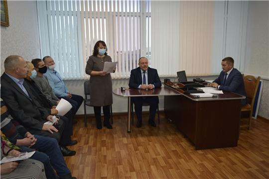 Прошло первое организационное заседание Яльчикской ТИК