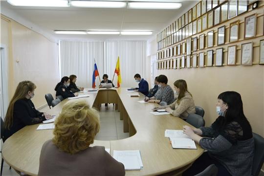 Итоговое заседание комиссии по делам несовершеннолетних