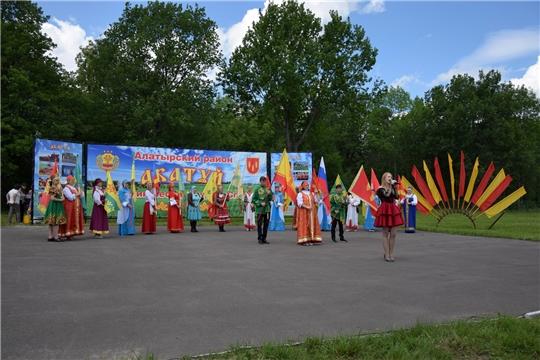 Алатырский район отметил 61-й районный праздник песни, труда и спорта «Акатуй-2021»