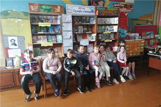 Литературно-игровая программа «Почитаем, поиграем, отдохнем, лето с пользой проведем» в селе Иваньково-Ленино